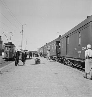Turku Central Station - Turku station, 1941