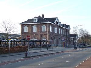 Winterswijk railway station - Image: Stationwinterswijkvo orkant