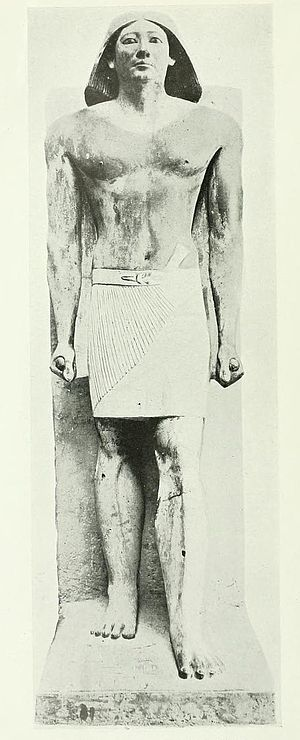 Ranefer (High Priest of Ptah) - Statue of Ranefer in the Cairo Museum