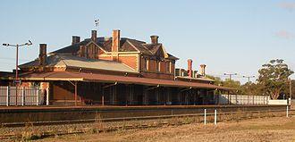 Stawell, Victoria - Stawell railway station