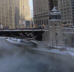 Steam Rising from Chicago River (cropped on Riverwalk).jpg