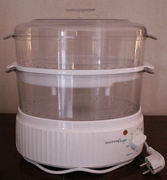Food steamer - An electric steam cooker