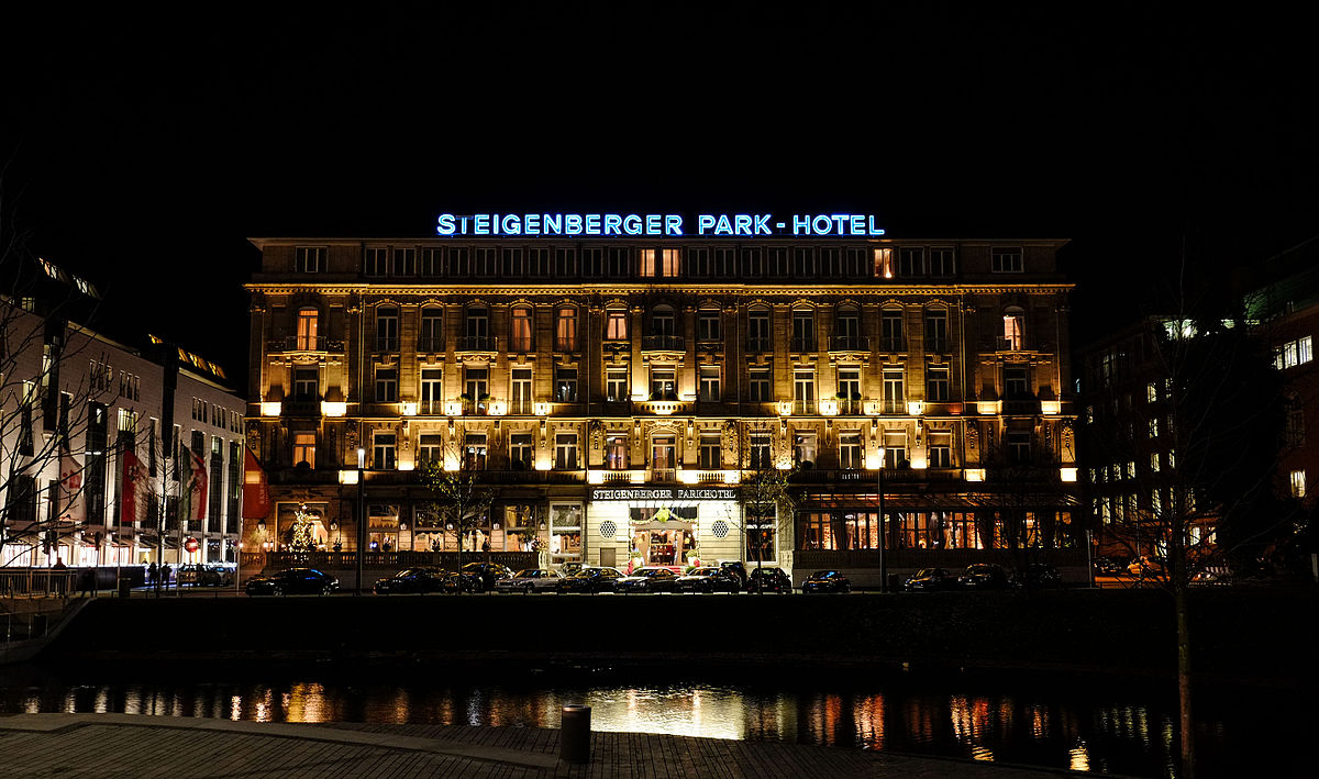 Steigenberger parkhotel d sseldorf wikipedia for Hotel dusseldorf mit schwimmbad