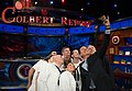 Stephen Colbert takes a selfie with a Sailor. (14066471618).jpg