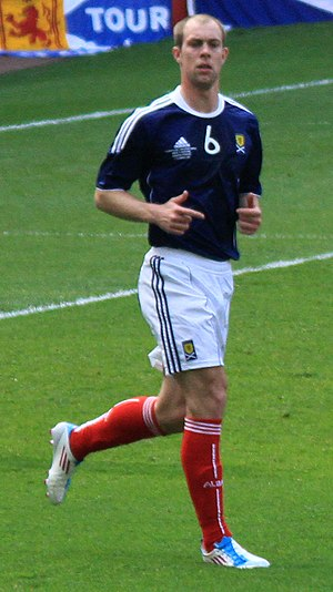Steven Whittaker - Whittaker playing for Scotland in 2011
