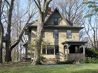 Adlai Stevenson II - Stevenson's boyhood home in Bloomington, Ill.