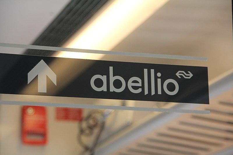 File:Sticker with logo of Abellio.jpg