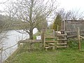 Stile-gate combination - geograph.org.uk - 758894.jpg