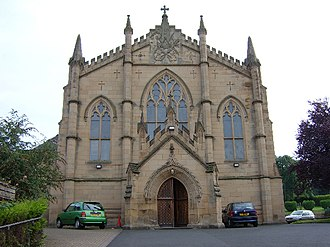 Hexham - St. Mary's Roman Catholic Church, Hexham. Photo credit: Peter Brooks