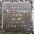 Stolperstein Bad Bentheim Paulinenweg 11 Heinz Zilversmit.JPG