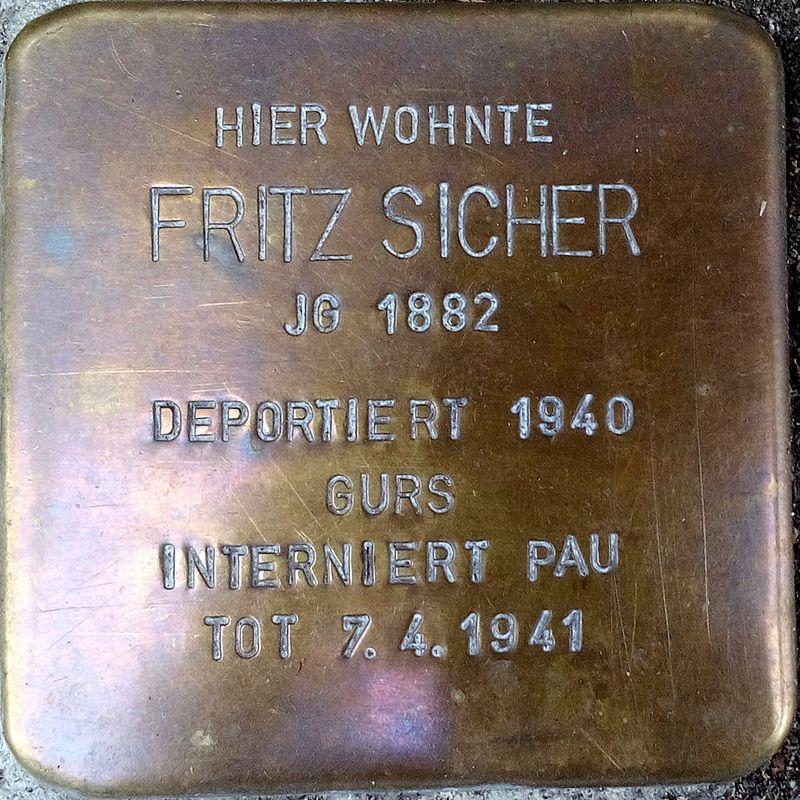 Stolperstein FRITZ SICHER.jpg