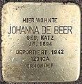 Stolperstein Johanna de Beer.jpg