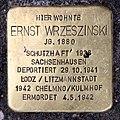 Stolperstein Kantstr 149 (Charl) Ernst Wrzeszinski.jpg