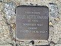 Stolperstein Rolf Kettermann, 1, Nordring 9, Mitte, Hamm.jpg