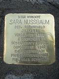 Stolperstein Sara Nussbaum1.jpg