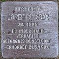 Stolperstein Solingen Erbenhäuschen 88 Josef Becker.jpg