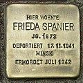 Stolperstein Verden - Frieda Spanier (1873).jpg