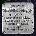 Stolperstein Wielandstr 22 (Schön) Siegfried Priester.jpg