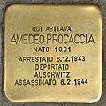 Stolperstein für Amedeo Procaccia (Napoli).jpg
