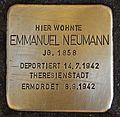 Stolperstein für Emmanuel Neumann.JPG