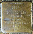 Stolpersteine Köln, Ella Löbenstein (Ehrenfeldgürtel 163).jpg