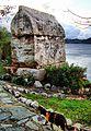 Stone grave and cat-Kaş - panoramio.jpg