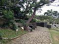 Stone path near Ikutoku Spring in Shikina Garden.JPG