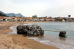 Stoupa village in Greece.JPG