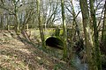 Stream bridge, Piltdown - Fletching road - geograph.org.uk - 1748017.jpg