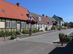 Falster - Old houses in Stubbekøbing, Falster