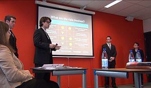 Network of International Business Schools - Presentation at the 2012 NIBS Worldwide Case Competition in Rotterdam, Netherlands