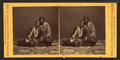 Studio portrait of 2 Winnebago women, by Martin's Art Gallery.png
