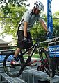 Stunt bicycle rider Chris Clark in Summit NJ.jpg