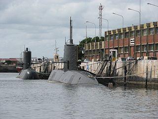 submarine service branch of the Argentine Navy