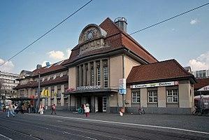 Frankfurt South station - Entrance building