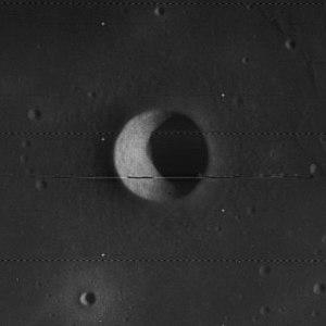 Suess (lunar crater) - Lunar Orbiter 4 image