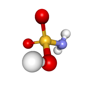 Sulfamic acid - Image: Sulfamic acid