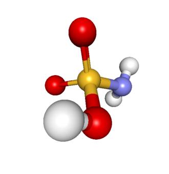 Sulfamic acid - Image: Sulfamic acid