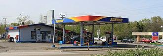 Sunoco - Sunoco service station, Ypsilanti, Michigan