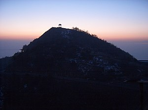Sunset at Mount Tai