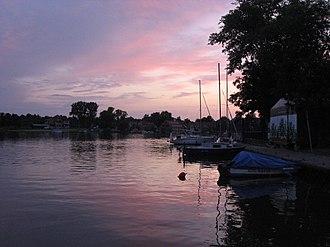 Masurian Lake District - Sundown in Mikołajki