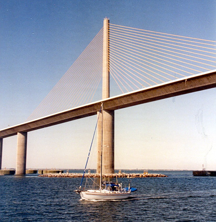 Sunshine Skyway Bridge - Detail