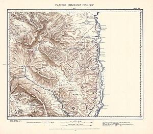 Tubas - Image: Survey of Western Palestine 1880.12