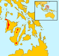 Sus cebifrons range map.png