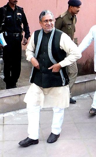 Bihar Legislative Assembly election, 2015 - Image: Sushil Kumar Modi 1