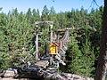 Suspension bridge over Lapinsalmi - panoramio.jpg