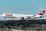 Swiss Airbus A340-313 (HB-JMD) -Tokyo Narita Airport.jpg