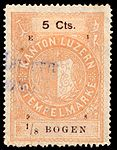 Switzerland Lucerne 1898 revenue 6 5c - 76 - E 1 98.jpg