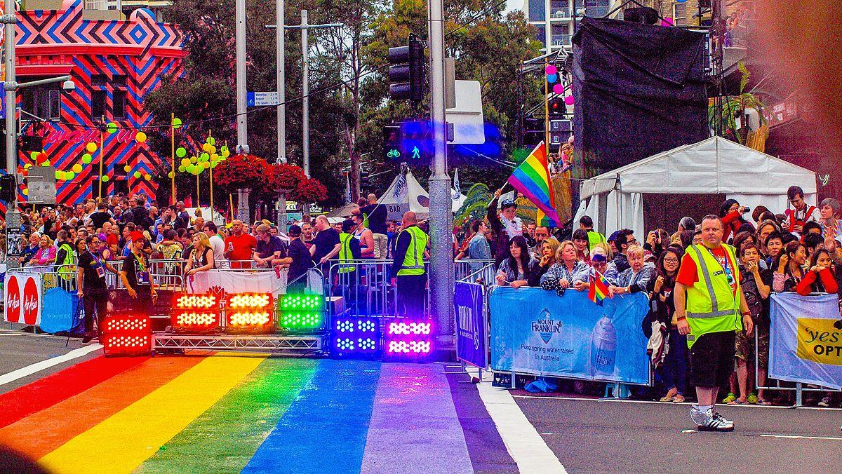 Количество гомосексуалистов в австралии