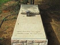 Sylvia Rafael grave in Ramat HaKovesh cemetery.JPG